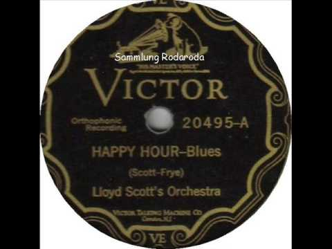 Happy Hour Blues   Lloyd Scott and his Orchestra