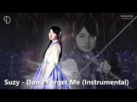 Suzy - Don't Forget Me (Instrumental)