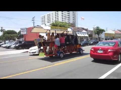 Bar Cycle in Santa Monica---Not My Party