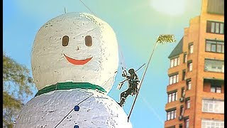 THE MOST HIGH SNOWMAN! WINNER 100K FOR THE SNOWMAN!