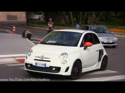 Rwd Abarth 500 Test Drive In Monaco Streets Youtube