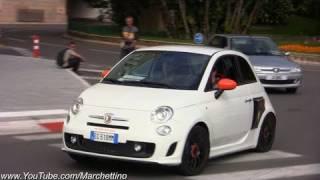 RWD Abarth 500 Test Drive in Monaco streets!