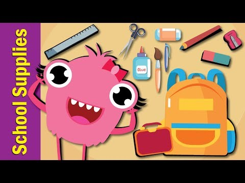 School Supplies Song | Fun Kids English