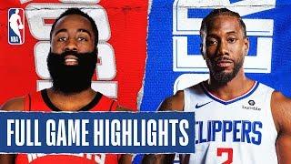 ROCKETS at CLIPPERS | FULL GAME HIGHLIGHTS | November 22, 2019
