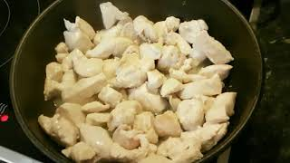 Курица в меде и соевом соусе. Вкусно и быстро!