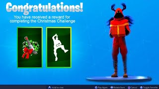 The New FREE CHRISTMAS REWARDS in Fortnite..