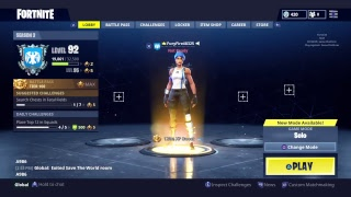 Fortnite Battle Royal 100+ Wins Solos New Leak to Battle Pass!!!! Wonder Women??????