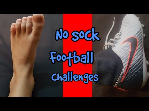 No sock football challenges !!!