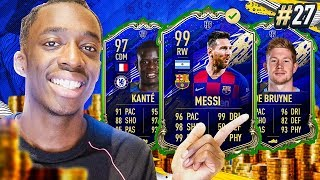 SPENDING SPREE!!! 11 MILLION COINS ON TOTY PLAYERS!!! #27 MMT