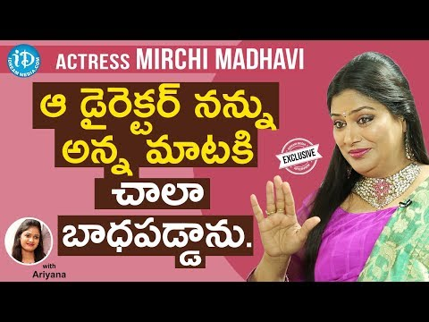 Actress Mirchi Madhavi Exclusive Interview    Talking Movies With iDream