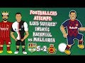 Footballers attempt Luis Suarez' backheel goal vs Mallorca! ► 442oons x Onefootball