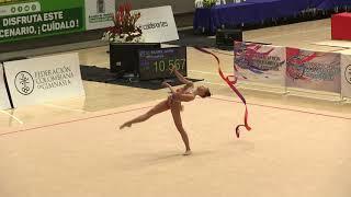 Elizabeth Kapitonova - Ribbon - Team/AA - 2018 Pacific Rim Championships