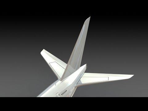 Designing an A380 : Part 3 (Vertical Stabilizer) SolidWorks Tutorial
