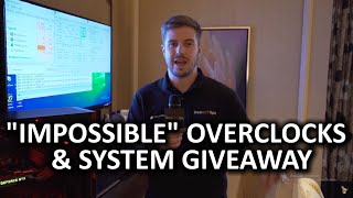 """SYSTEM GIVEAWAY [CLOSED] & Overclocking On """"Locked"""" CPUs & Chipsets - Supermicro booth - CES 2016"""