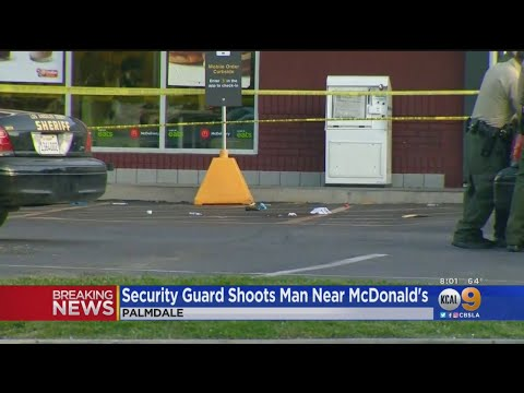 Josh - Naked Man Shot to Death After Stabbing Elderly McDonald's Customer