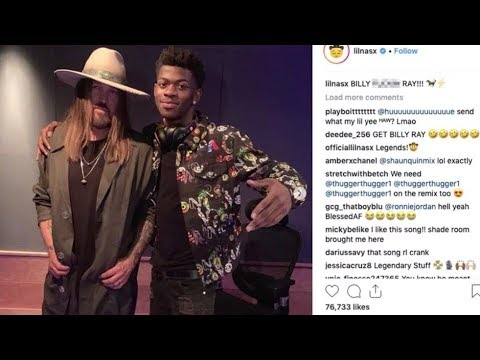 Lil NasX And Billy Ray Cyrus Song Pulled From Billboard Country Chart