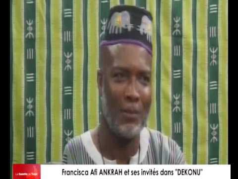 """""""DEKONU """", l'émission qui parle de la tradition et des coutumes par Francisca Afi ANKRAH"""