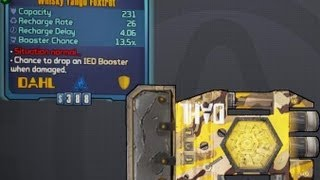 Borderlands 2 Legendary Items: Whiskey Tango Foxtrot (Legendary Shield)