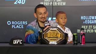 UFC 240: Post-fight Press Conference Highlights