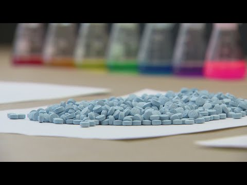 Chicago DEA officials warningLollapalooza concertgoers about fake pills