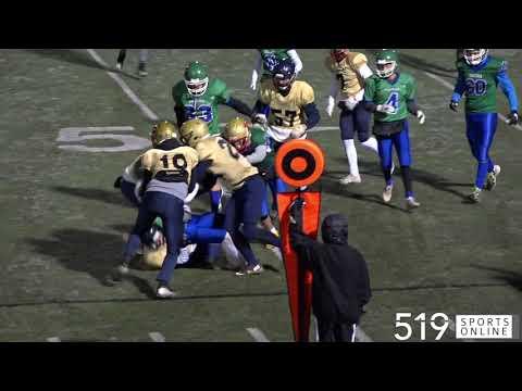 District 8 Senior Football Championship - St. Benedict Saints vs St. David Celtics