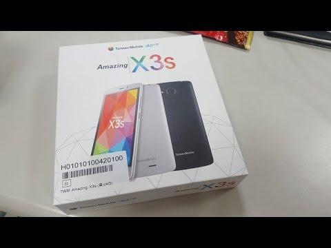 Amazing X3S Présentation - Le téléphone de Bayrou juste au milieu !