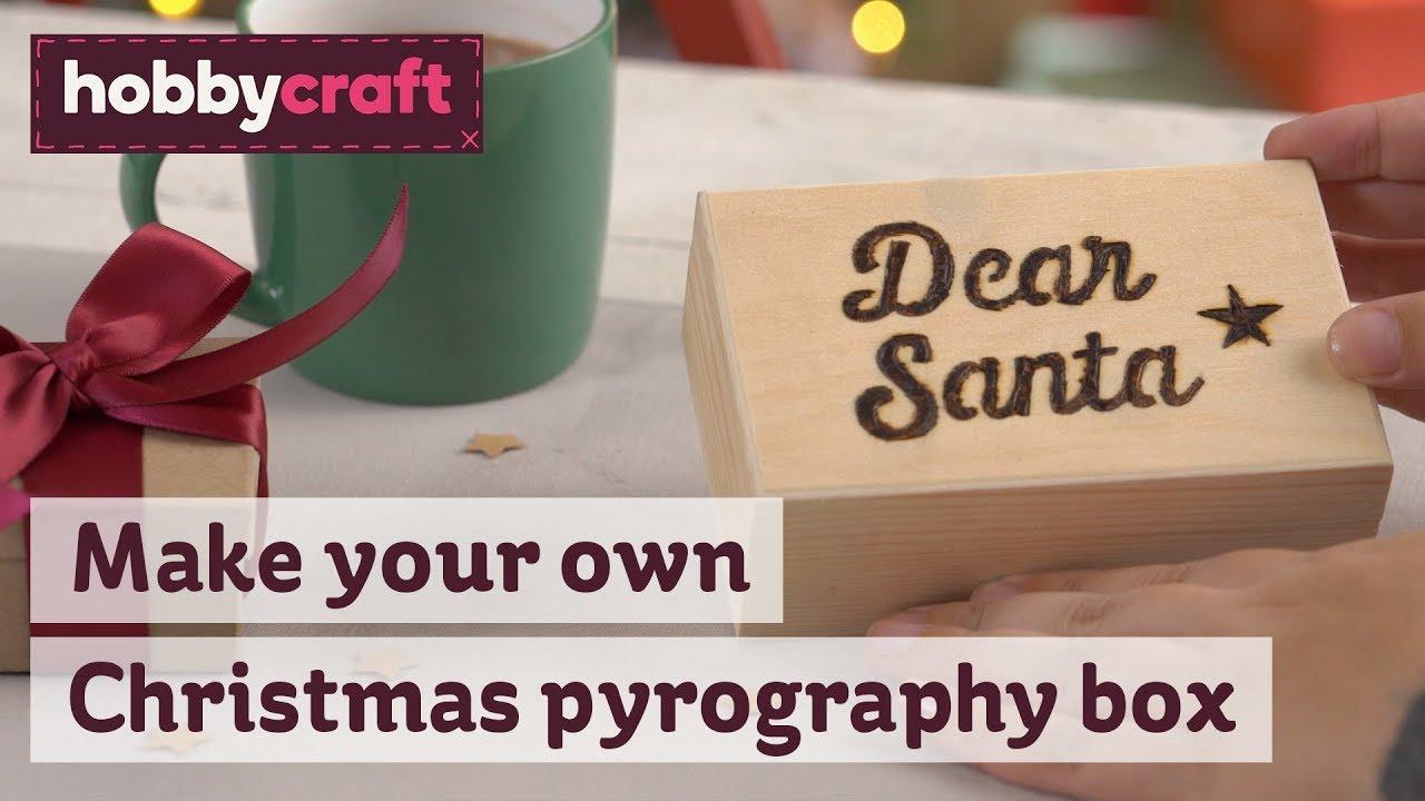 Christmas Eve Boxes Hobbycraft Youtube