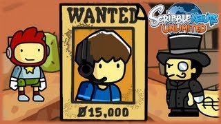 WANTED: FAVIJ - Reward 15.000$ - Scribblenauts Unlimited - Parte 9