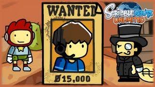 WANTED: FAVIJ - Reward 15.000$ - Scribblenauts Unlimited - Parte 9
