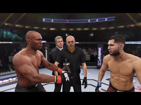 Kamaru Usman Vs. Jorge Masvidal (EA Sports UFC 3)