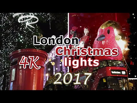 Top London 2017 Christmas lights & store windows