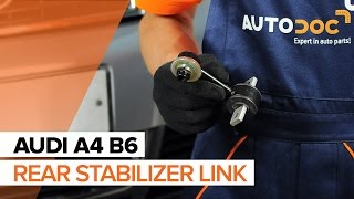 How to replace Stabilizer bushes FORD MONDEO IV Turnier (BA7) Tutorial