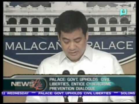 Palace: Gov't upholds civil liberties, entice cybercrime prevention dialogue