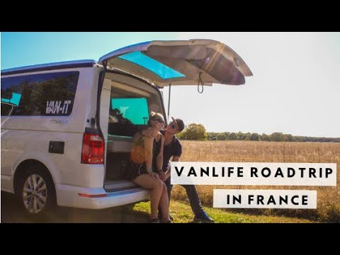 A Taste of VANLIFE | Our Normandy Roadtrip | highlands2hammocks travel vlog