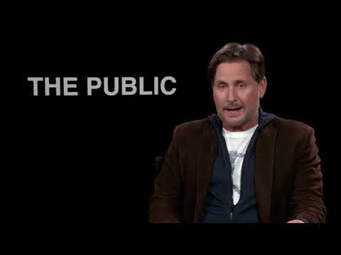 Emilio Estevez Talks About His Research For The Public   Own It Now On Blu-Ray, DVD & Digital