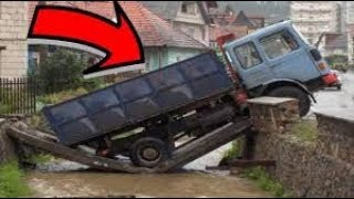 Craziest Driving Fails Compilation | Accidents on Roads 2018