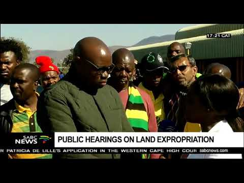Limpopo: Land expropriation public hearings