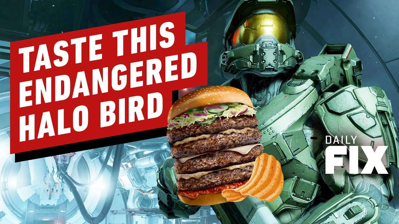 Endangered Halo Bird Is Now Something You Can Actually Eat - IGN Daily Fix - IGN