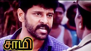 Saamy-Part-2-Vikram-had-an-fight-with-corrupt-police-officer-who-bribes-vendors