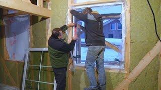 Как вставить окно и скрытые рольставни в каркасник // FORUMHOUSE(, 2015-12-08T06:54:38.000Z)