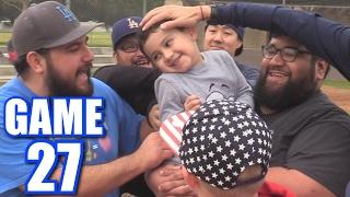 TICKLING LUMPY!   Offseason Softball League   Game 27