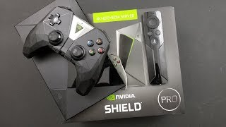 Nvidia Shield Pro With Google Assistant Unboxing / Setup/ Comparison To Small 2017 Shield TV