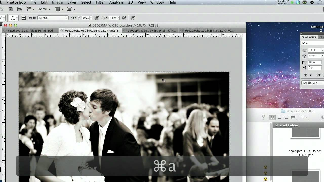 Photoshop PSD Album Templates Tutorial - YouTube