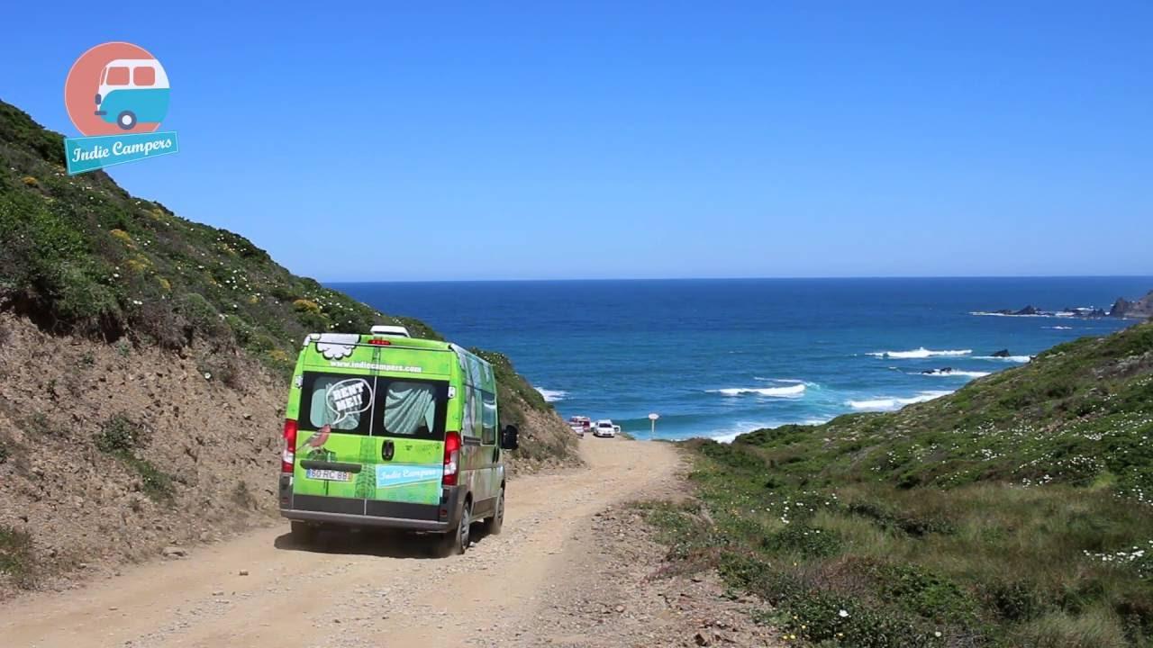 30fee60c24 Van Life  Surfing in Europe with Indie Campers - YouTube