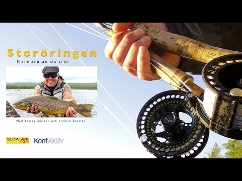 Flyfishing for trout in Swedish Lapland – Documentary