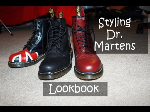 How I Style Dr. Martens (Men's Lookbook)