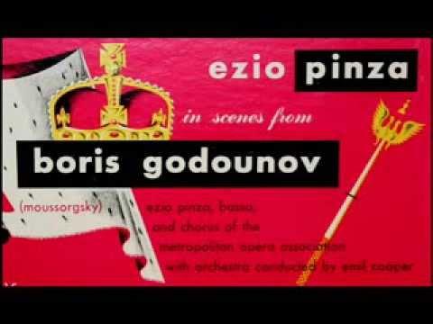 Mussorgsky / Ezio Pinza, 1948: Boris Godunov - Coronation Scene - 1949 Columbia LP