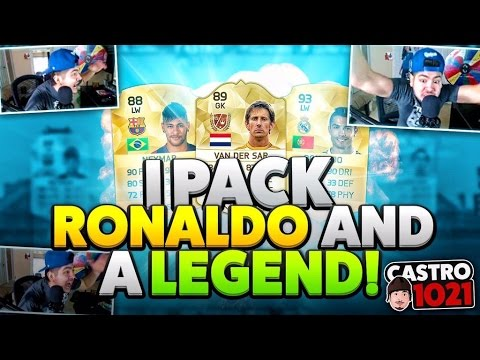 I PACK RONALDO AND A LEGEND! FIFA 16 ULTIMATE TEAM!