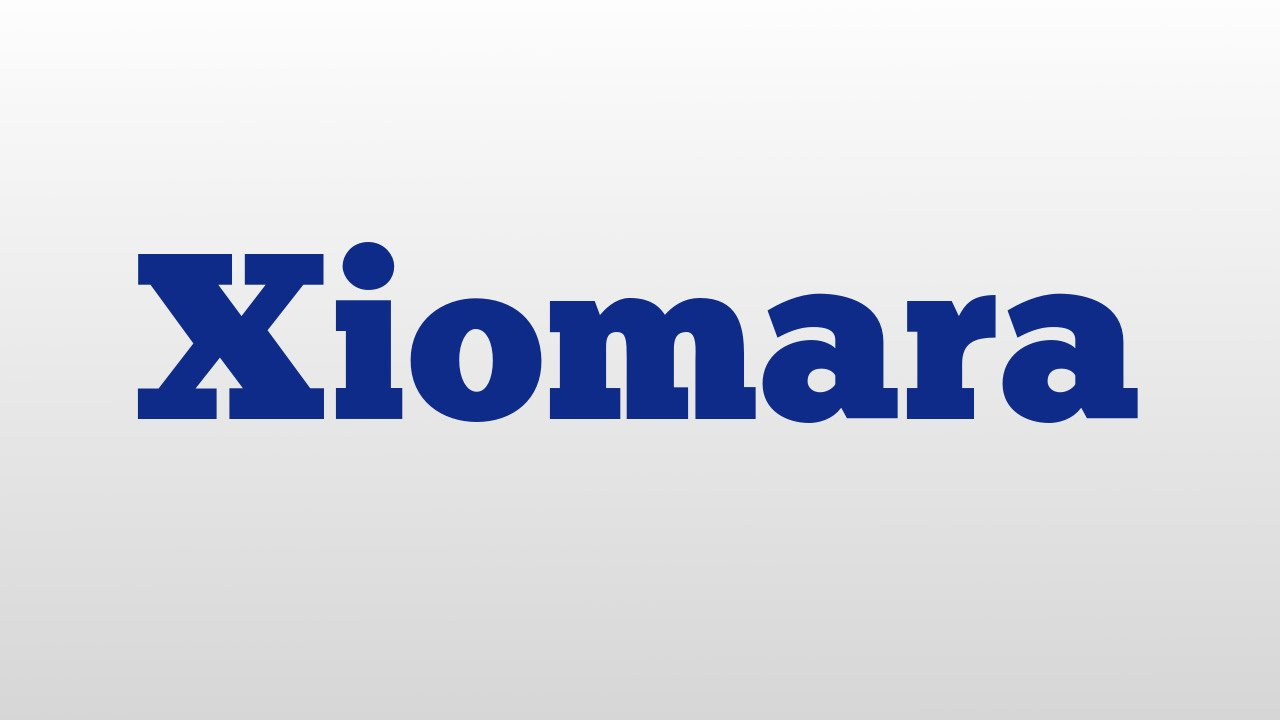 Xiomara meaning and pronunciation - YouTube