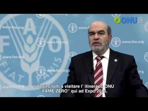 FAO Director-General José Graziano da Silva's message for Expo Milano 2015 (sub ITA)